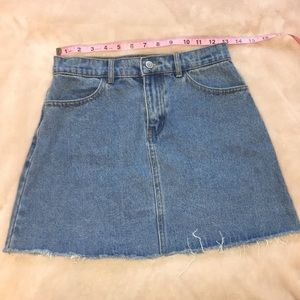 John Gault • Denim Skirt